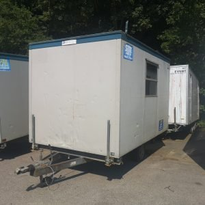 Secondhand 12ft Wheeled Cabin For Sale