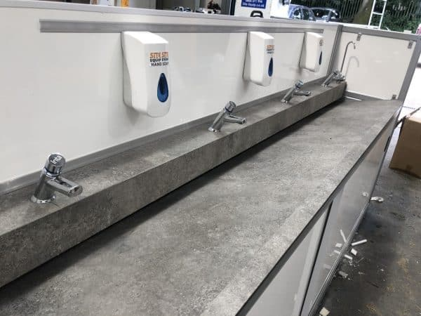 Cold or Hot Water Hand Wash Station