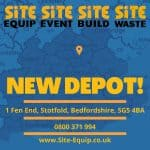 New Depot Opens in Stotfold, Bedfordshire for Site Equip!