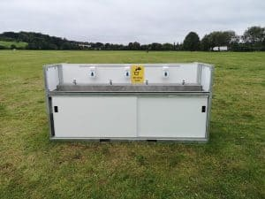 Event hand wash Event Sink & Sanitiser Stations, What Are Your Options?