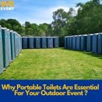 toilet hire for events